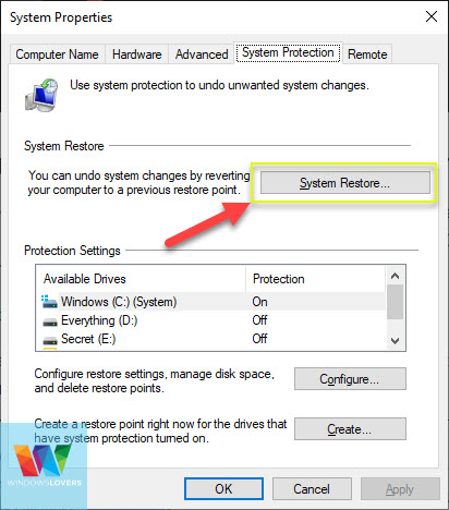 accessing-system-restore-points