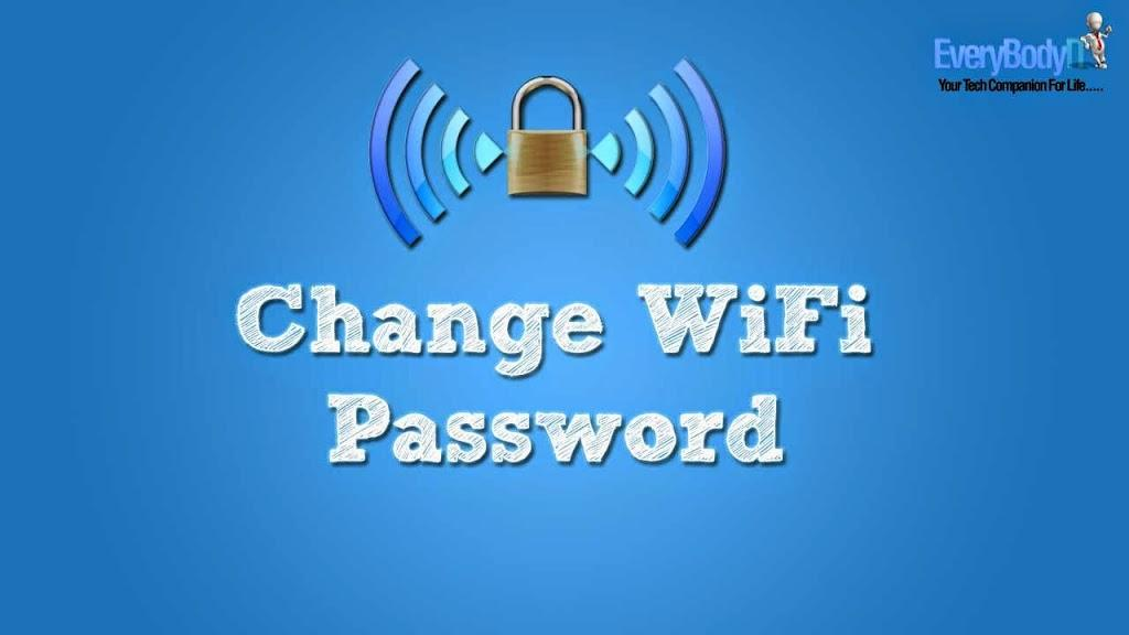 How To Change WiFi Password - Windowslovers com