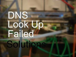 dns-lookup-failed-solutions