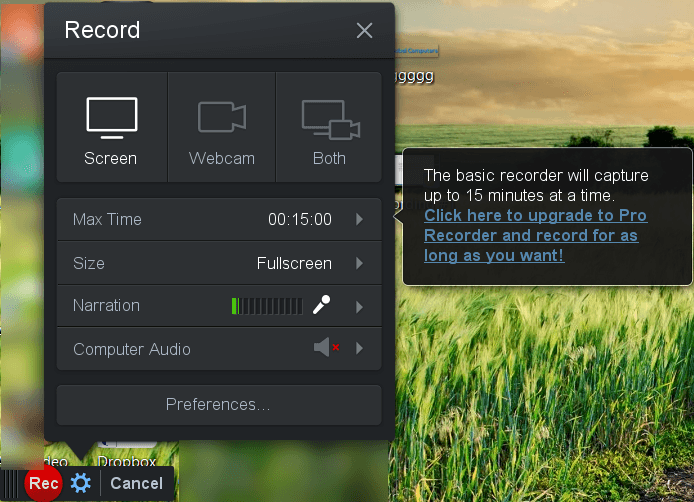 Screen recorder free download windows golferogon for Window recorder