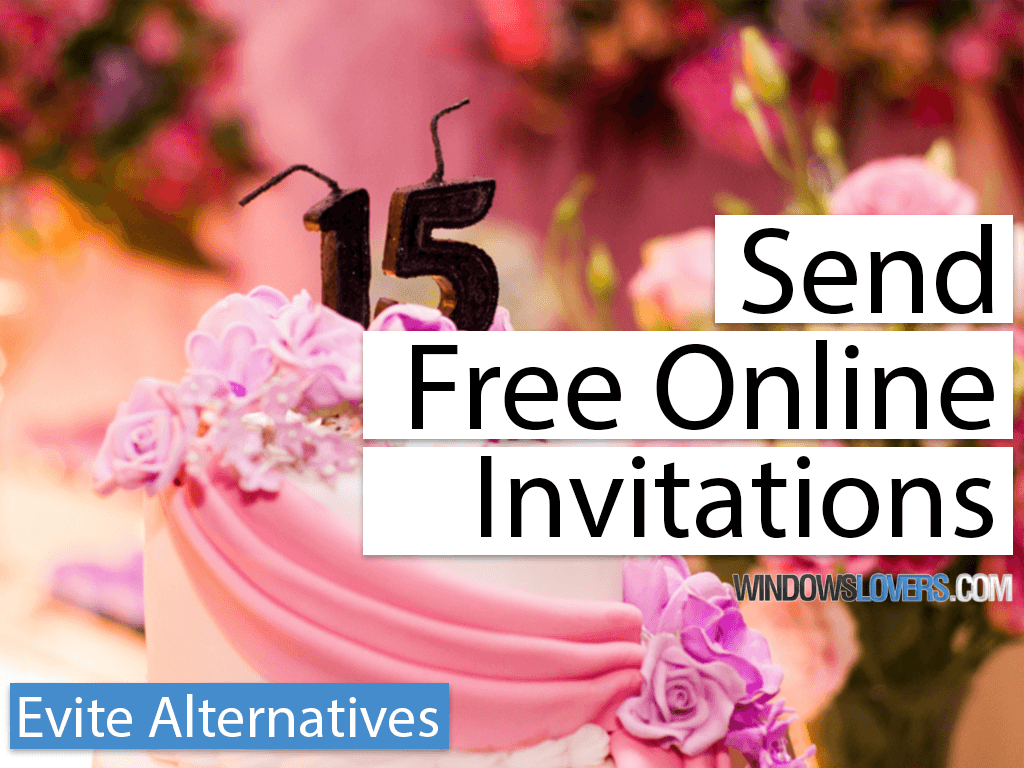 7 best evite alternatives to send free online invitations
