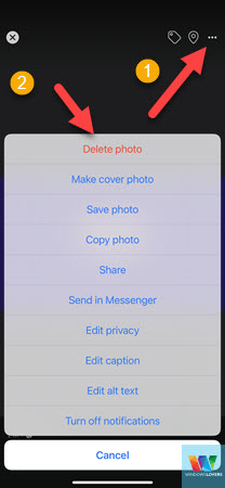 deleting-facebook-profile-picture-on-mobile-phone