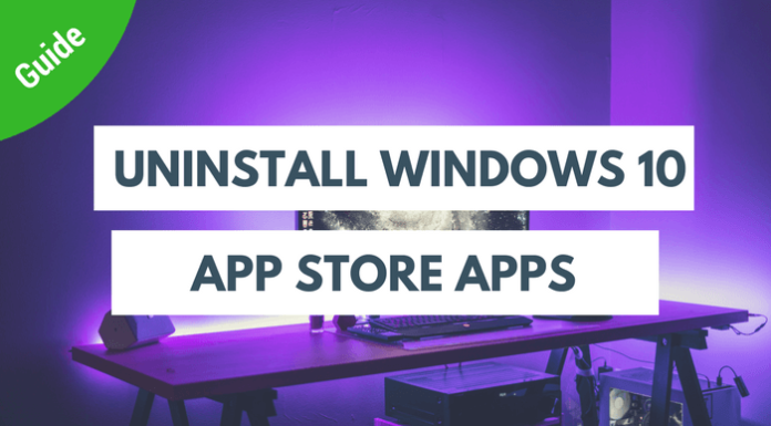 Uninstall-windows-10-apps-app-store