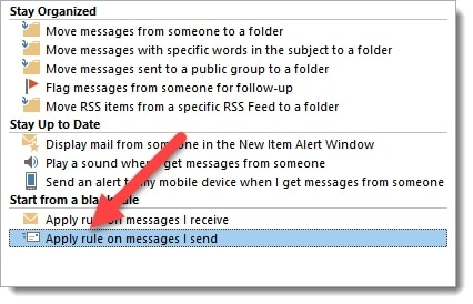 selecting-the-outlook-rule-windowslovers