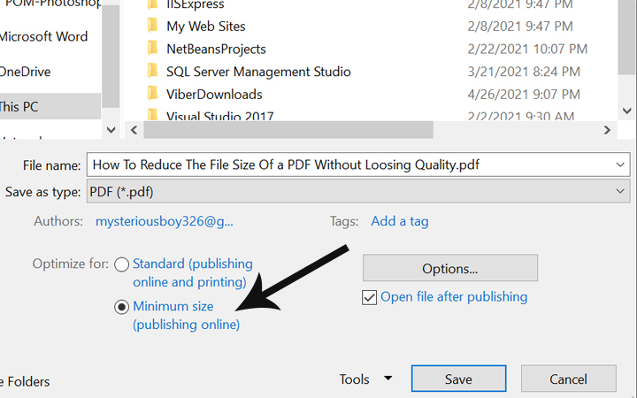 how to reduce the file size of a pdf