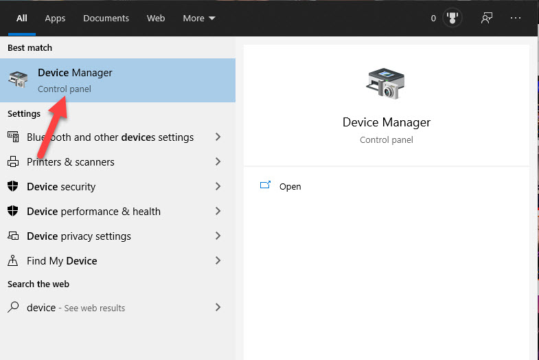 opening-device-manager