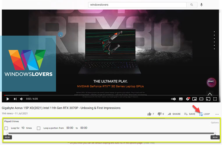 google-chrome-extension-to-loop-a-video-youtube