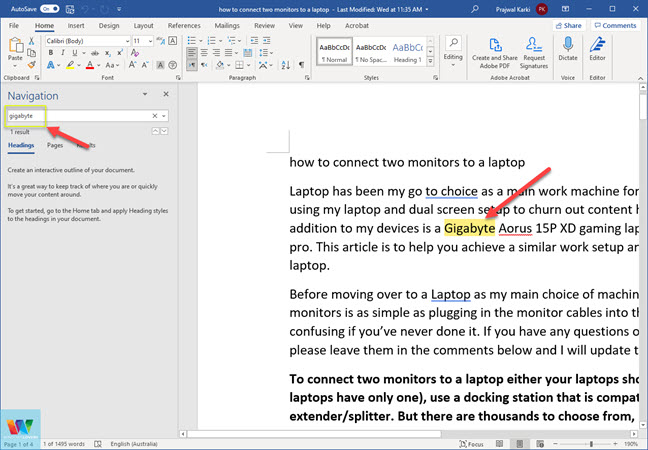 microsoft-word-search-feature