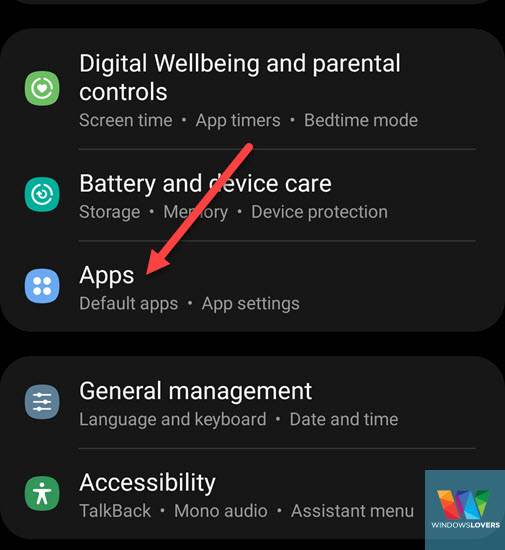 opening-apps-from-settings