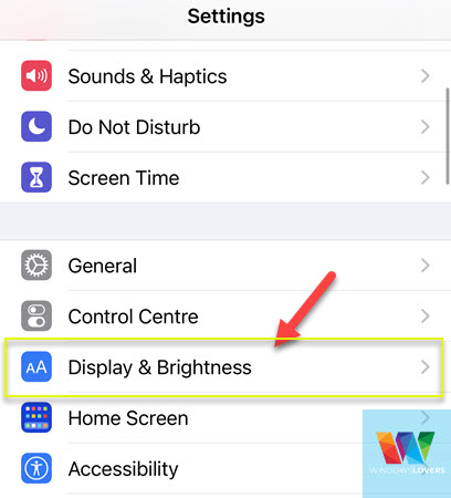 opening-display-and-brightness-to-change-font-size-on-iphone