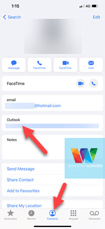 outlook-contacts-synced-with-iphone-app