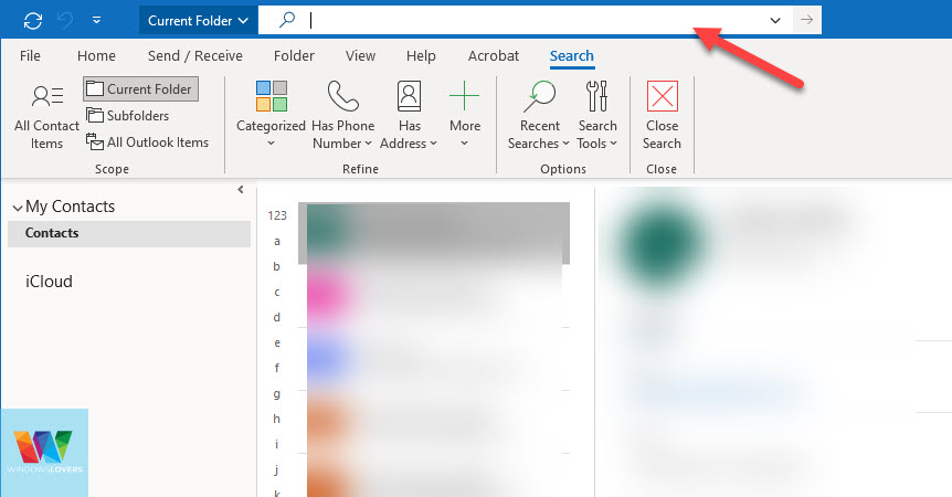 searching-outlook-contacts