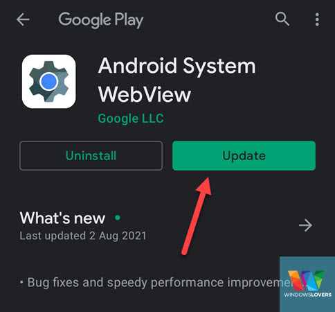 updating-android-webview