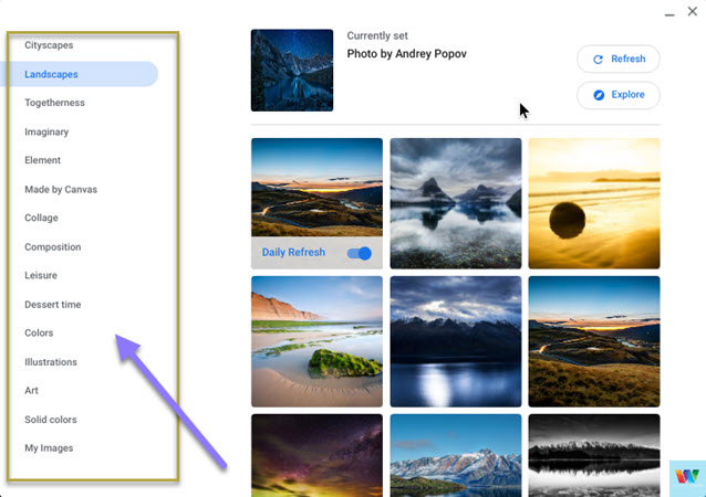 different-wallpaper-categories