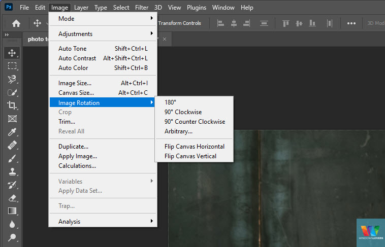 how-to-flip-an-image-in-photoshop