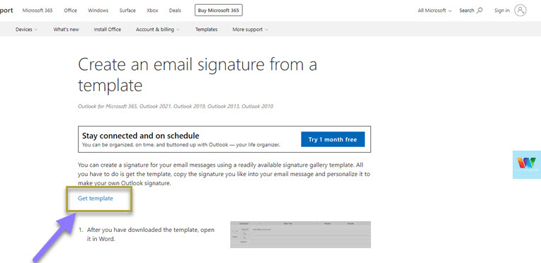 free-outlook-email-signature-templates
